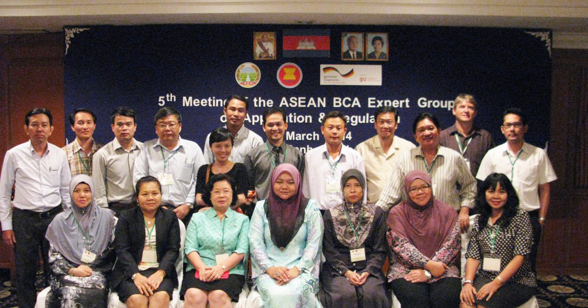 The 5th (Joint) Meeting of the ASEAN BCA Expert Groups on Application and Regulation in Phnom Penh, Cambodia from 12 March 2014