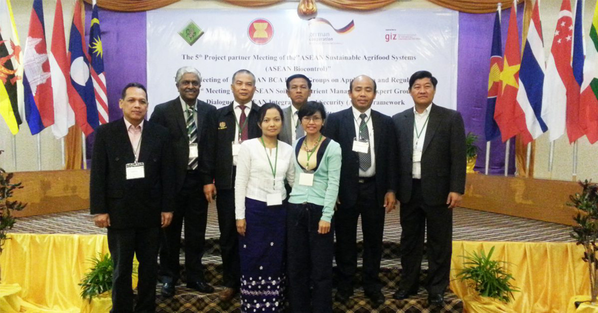 1st ASEAN Expert Group on Soil and Nutrient Management