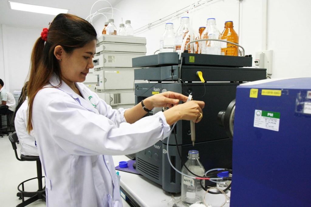 Testing Room at Central Lab Thai, Bangkok, Thailand