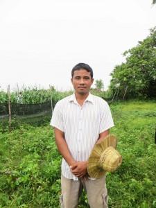 Mr. Sun Song, 32, farmer using Trichoderma, Siem Reap Province, Cambodia
