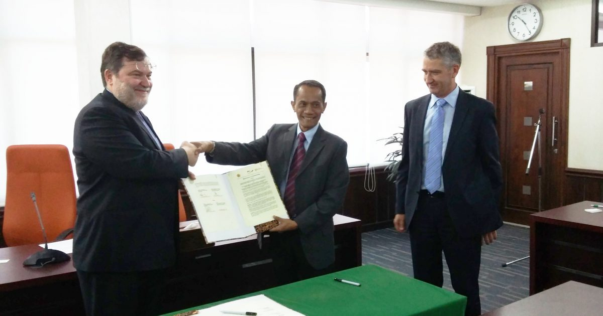 MoU signed in Indonesia highlighting environmentally friendly production to meet increasing food demands