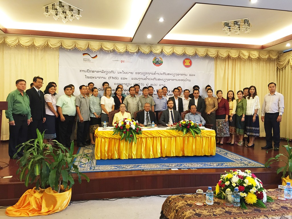 A high level Policy Dialogue on Food and Nutrition Security and the ASEAN Integrated Food Security (AIFS) Framework in Lao PDR was held on 10 July 2015 in Vientiane.
