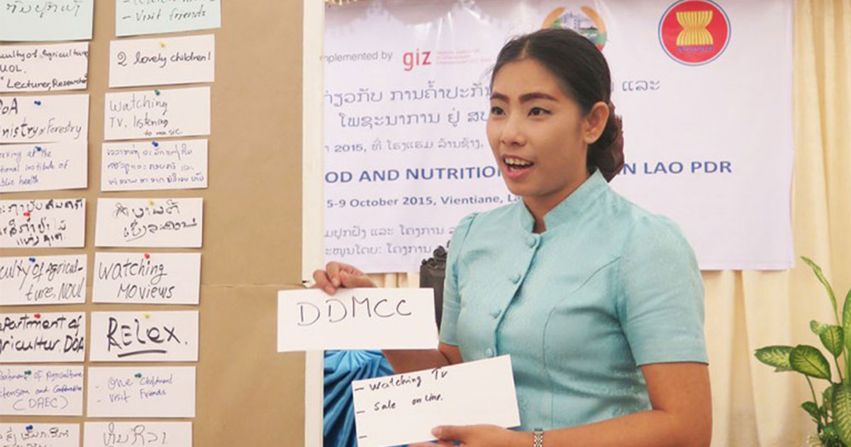 Training on Food and Nutrition Security in Lao PDR