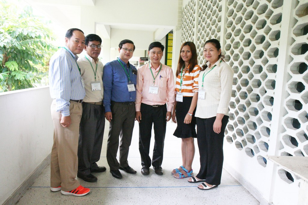 Cambodia participants at the 'Regional Training on Regulatory Laboratory and Practice on BCA [Biological Ccontrol Agent] and Biofertilizer'