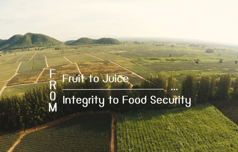 From Fruit to Juice: From Integrity to Food Security (Video
