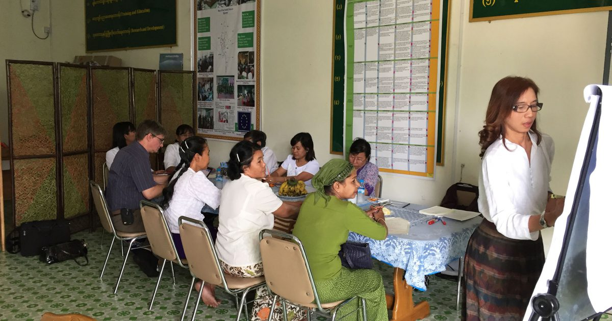 Regional Cooperation contributes to food security in Myanmar