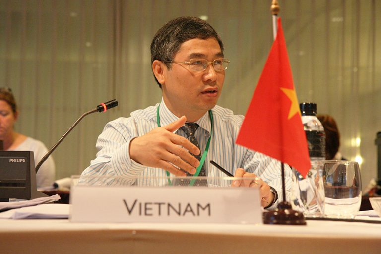 Mr. Quy Duong Nguyen, Deputy Director General of Plant Protection Department from Vietnam