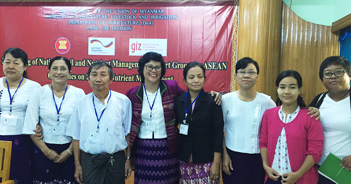 Myanmar experts push ASEAN Guidelines on Soil and Nutrient Management