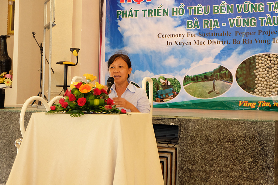 Ms. Hien from Sub-Plant Protection Department expressed to support with her staff contribution to the project