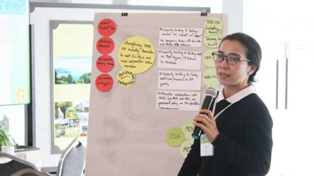 food-safety-project-manager-of-the-asean-sas-shares-her-experiences-on-her-fruit-juice-project-in-thailand-at-the-workshop-on-market-linkages-in-indonesia