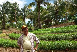 Farm owner in Davao, Philippines