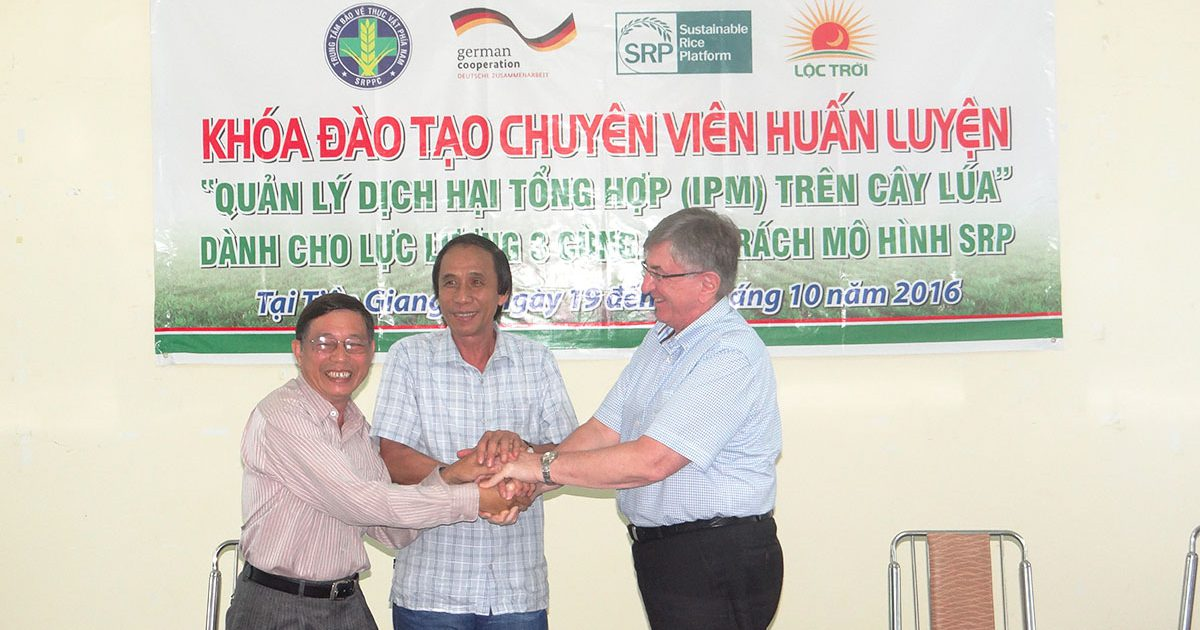 MoU signed: Public and private cooperation fosters sustainable agriculture in Viet Nam