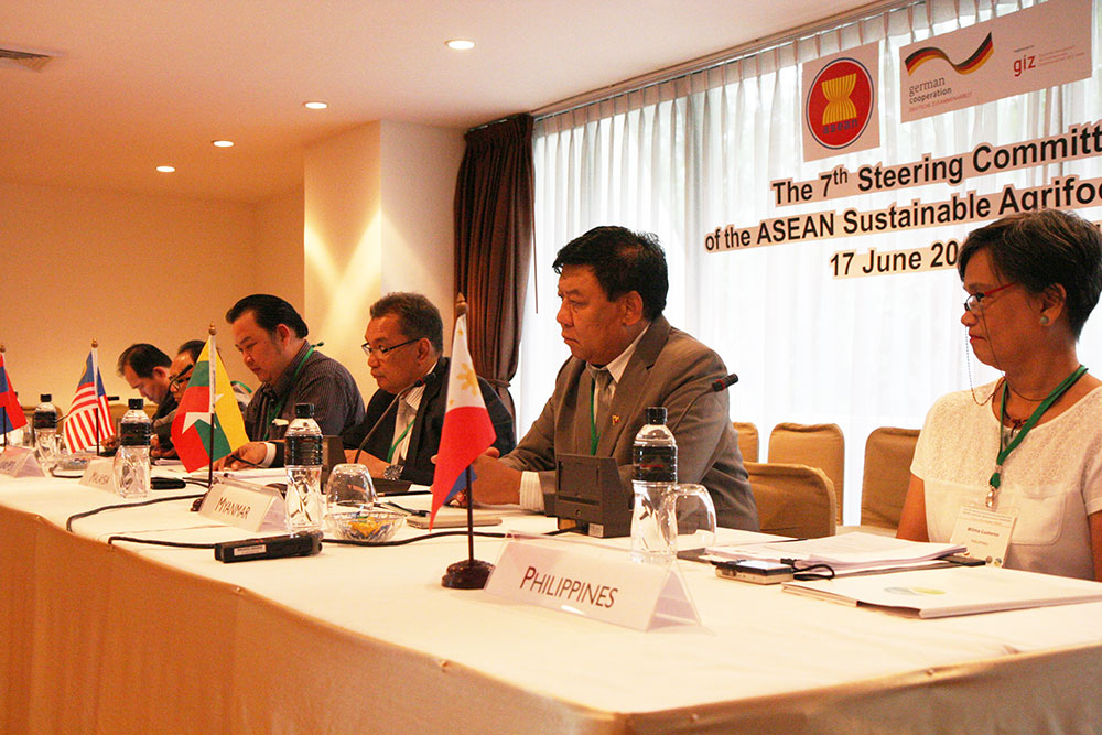 Project Focal Points at the 7th Steering Committee Meeting of the ASEAN Sustainable Agrifood Systems