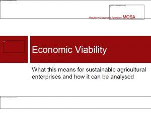 Economic Viability ASEAN