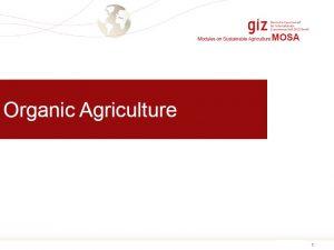 Organic Agriculture ASEAN