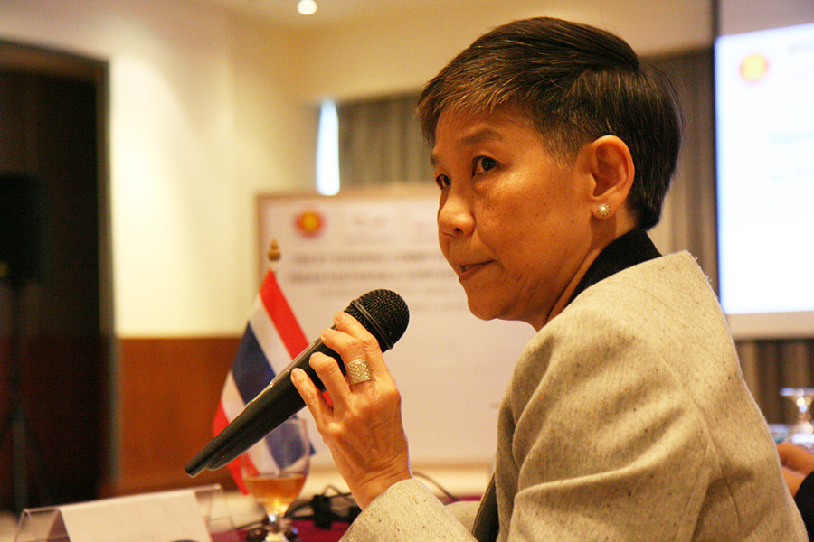 Dr. Surmsuk Salakpetch, Deputy Director General of Department of Agriculture, Thailand
