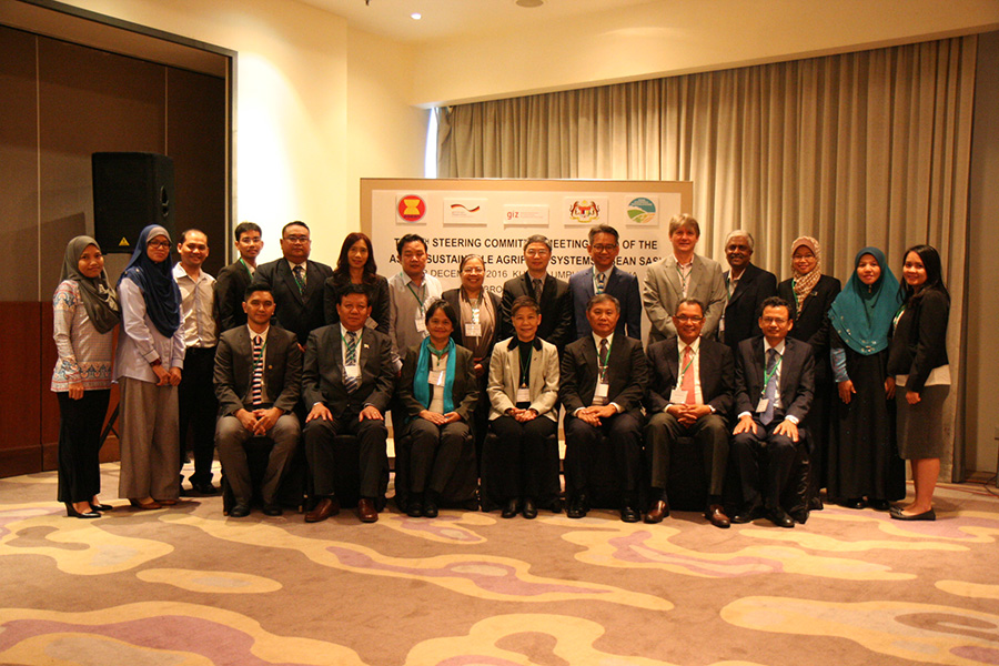 The 8th Steering Committee Meeting of ASEAN Sustainable Agrifood Systems was held in Kuala Lumpur, Malaysia on 7 and 8 December 2016.
