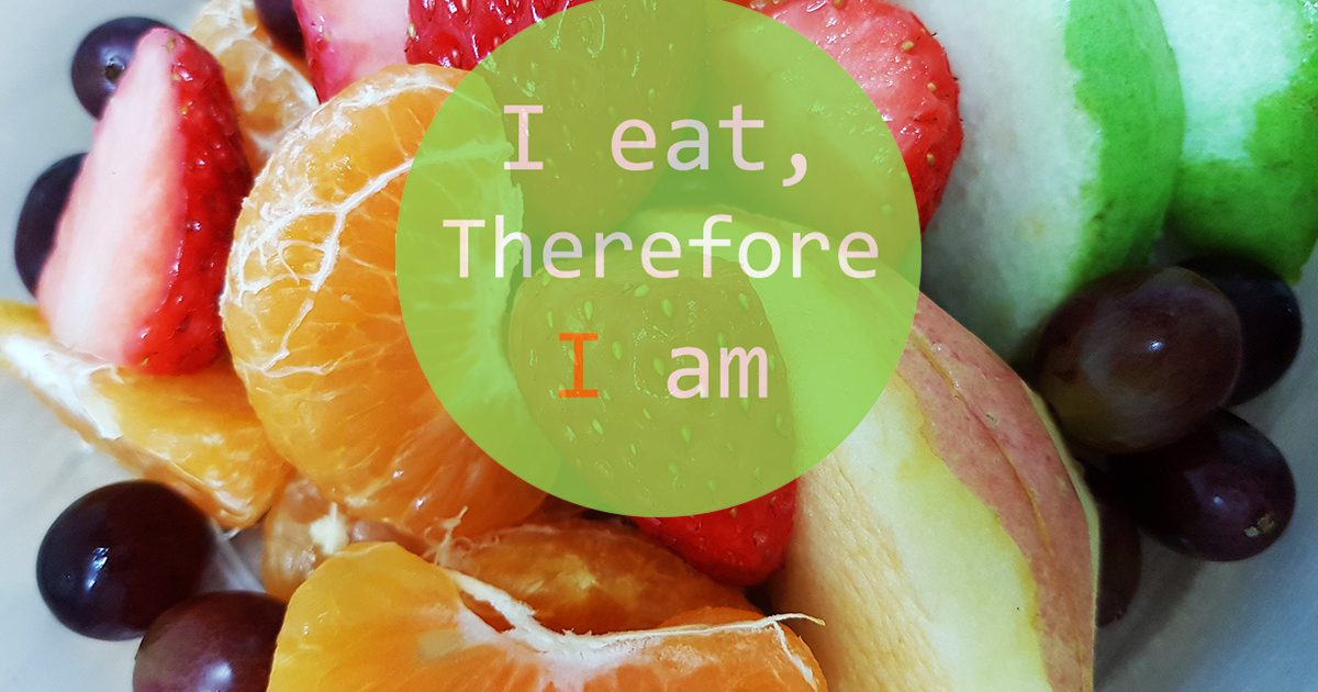 'I eat, therefore I am': Please Like, Comment, Post and Share
