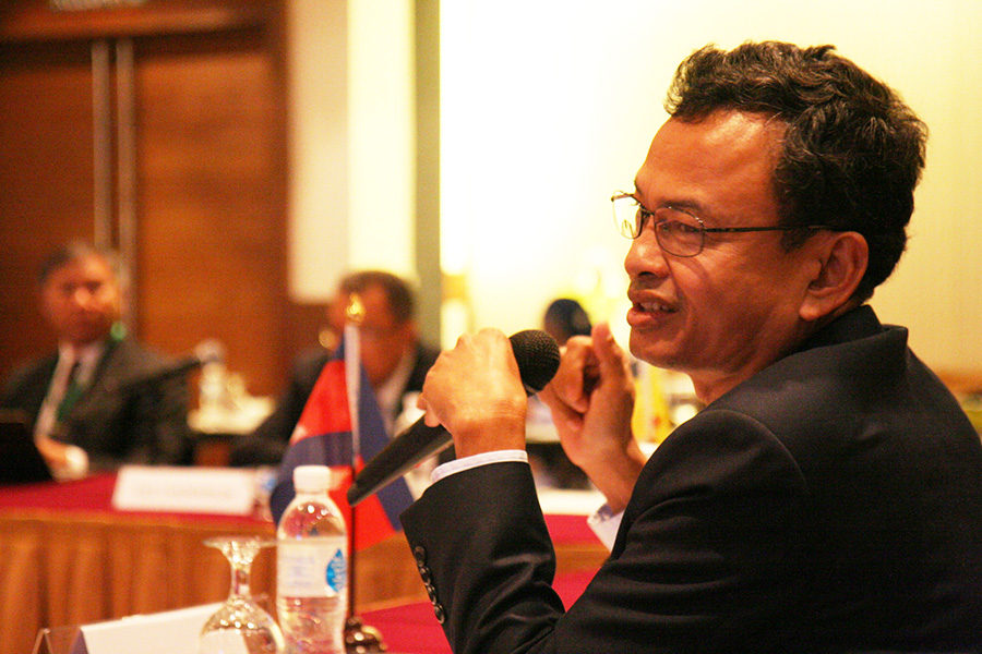 Mr. Soeun Mak, Deputy Director General of General Directorate of Agriculture, Ministry of Agriculture, Forestry and Fisheries, Cambodia