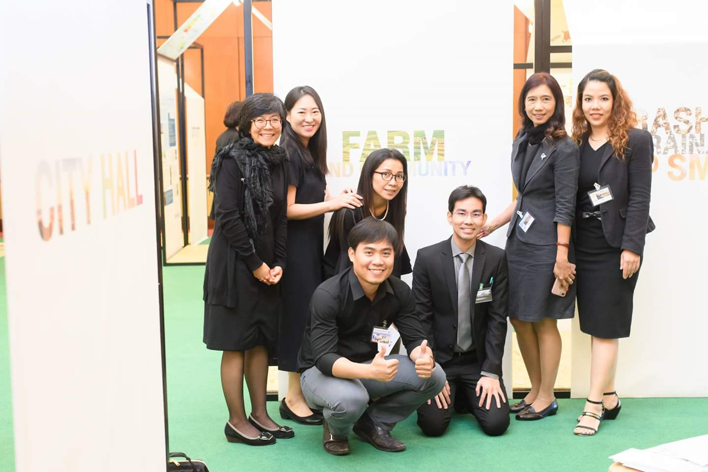 ASEAN Sustainable Agrifood Systems team in Bangkok
