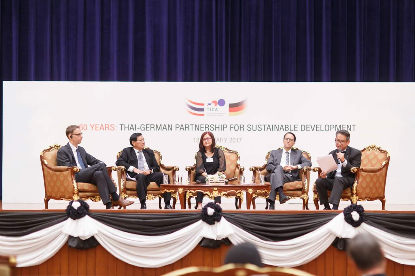 Panel discussion 'Stories from the Past for the Future towards SDGs'