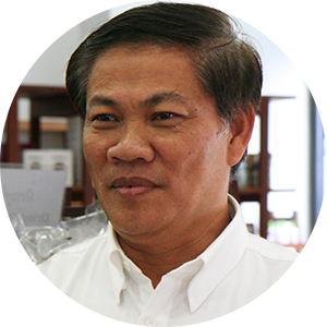 Dr. Ieng Sotheara of the Eco-Agri Co. Ltd.