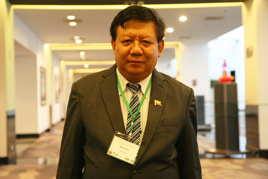 Mr. Aye Ko Ko, Deputy Director General of Department of Agriculture, Myanmar