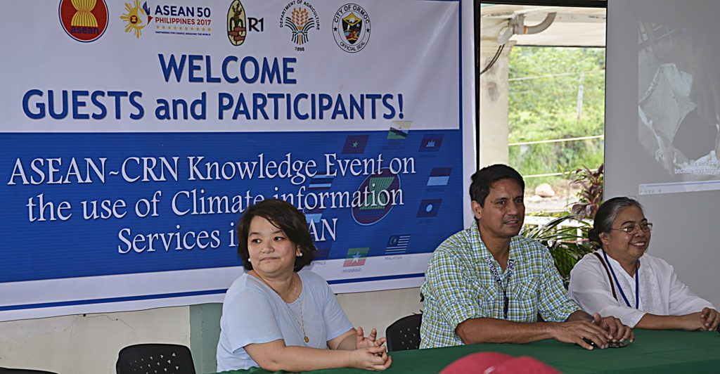 Ormoc City Mayor Hon. Richard Gomez (center) is joined by Ms. Hazel Tanchuling (R1) (left) and Dr. Margaret Yoovatana (right) (photo by ICCAFC Ormoc )