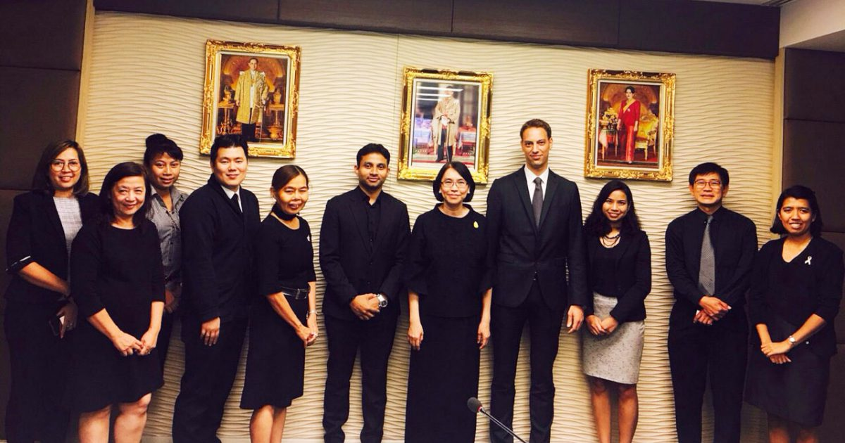 Thailand's Deputy Minister of Agriculture discusses future collaboration with German implemented Projects