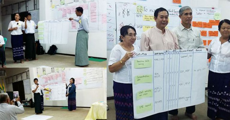 Draft Roadmaps for Good Agricultural Practices and Organic Standard developed in Myanmar