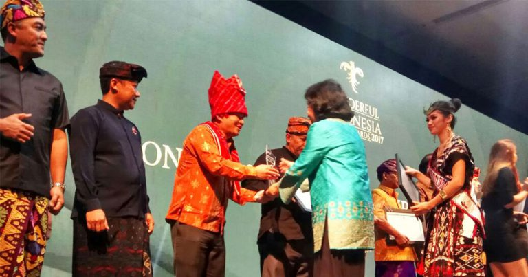 The Agro-Eco Taman Simalem Resort wins the Indonesia Sustainable Tourism Award for Environment Conservation