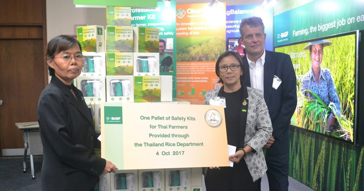 Better Rice Initiative Asia project contributes to sustainable rice production in Southeast Asia with the Sustainable Rice Platform standard