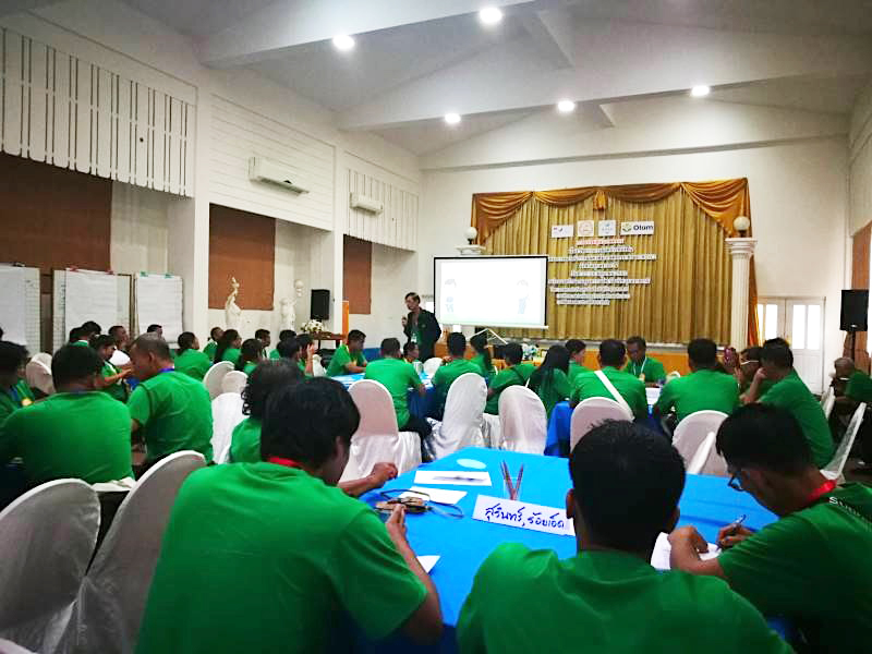 The SRP Smart Farmers Training is organized between 25 and 26 June 2019 in Ubon Ratchathani, Thailand. (Photo credit: GIZ Thailand)