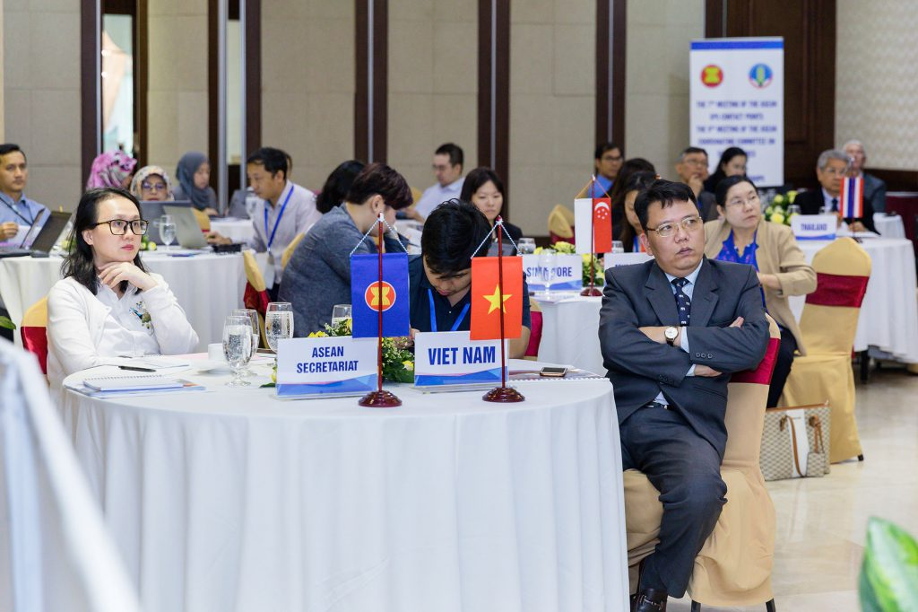 Participants pay attention to a discussion. (Photo credit: GIZ Vietnam)