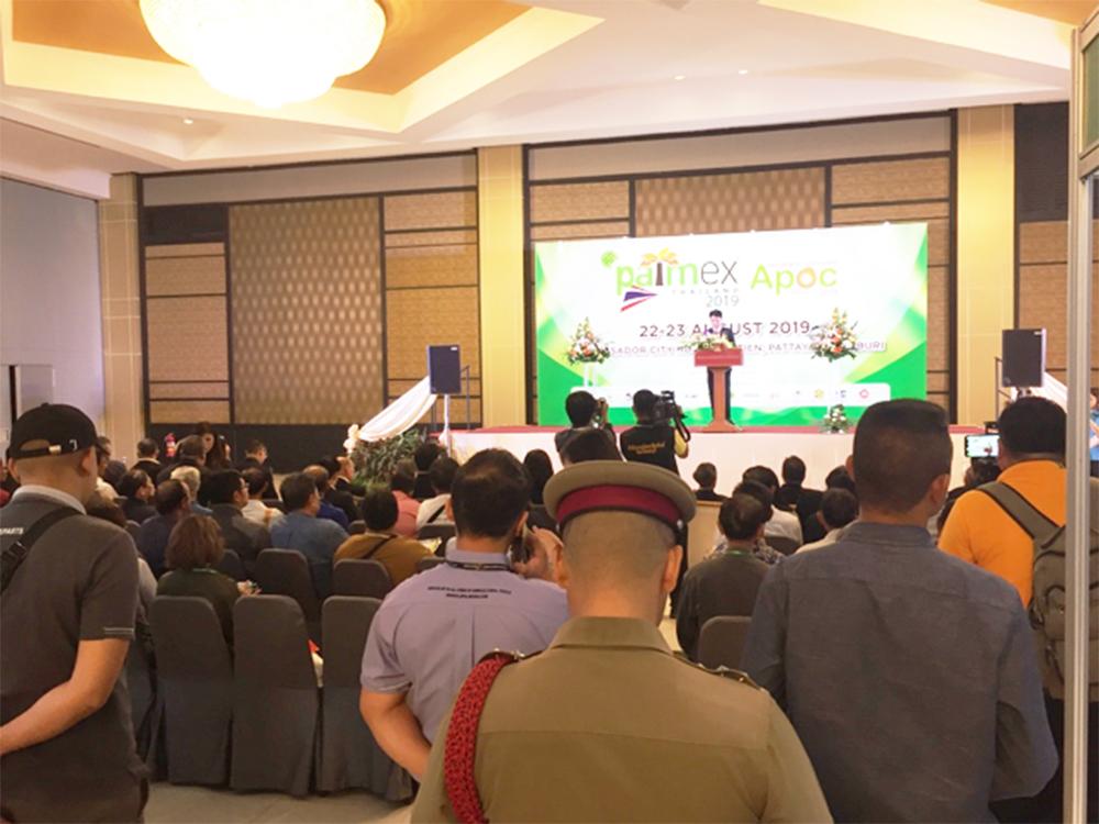 PALMEX Thailand was held on 22 August 2019 at Ambassador City Jomtien Hotel in Pattaya. (Photo credit: GIZ Thailand)
