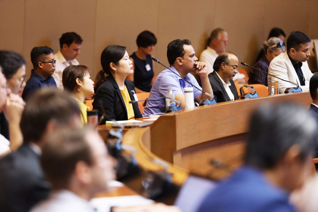 The 2nd Global Sustainable Rice Conference and Exhibition at the United Nations Conference Centre in Bangkok between 1-2 October 2019. (Photo credit: I shoot your shot/ Sustainable Rice Platform)