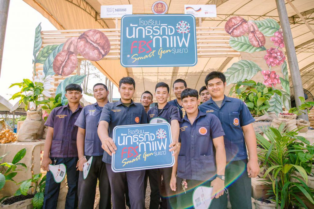 More than 50 vocational students take part in the event. (Photo credit: GIZ Thailand)