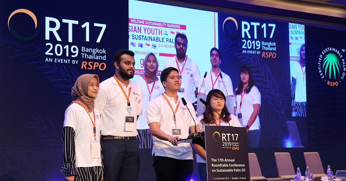 Youth secures a better future for palm oil